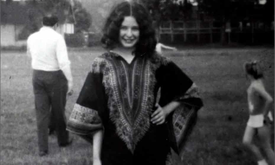Laura Marcus as a teenager