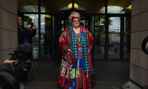 Kids Company founder Camila Batmanghelidjh arrives for a select committee hearing in 2015.