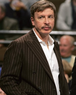 The stripes have it … Kroenke in 2006.