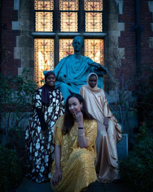 The cast of Somalinimo at Cambridge University