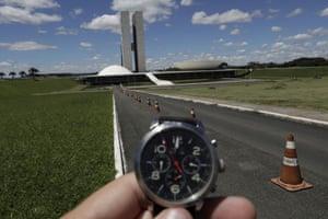 The National Congress in Brasilia, Brazil