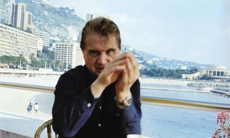 Francis Bacon in Monaco in 1981