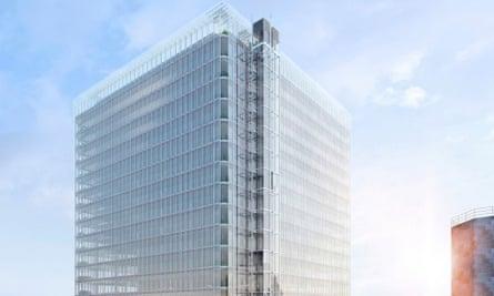 Renzo Piano's Paddington Cube