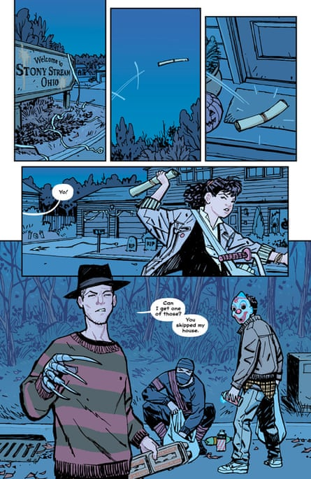 Paper Girls: what to read while waiting for more Stranger Things | Comics and graphic novels | The Guardian