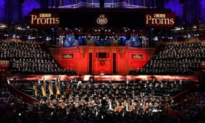 The London Symphony Orchestra performs at the Proms