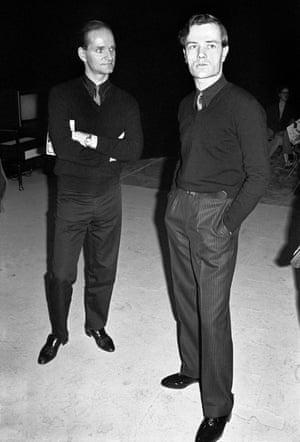 Florian Schneider (left) and Ralf Hütter in 1978