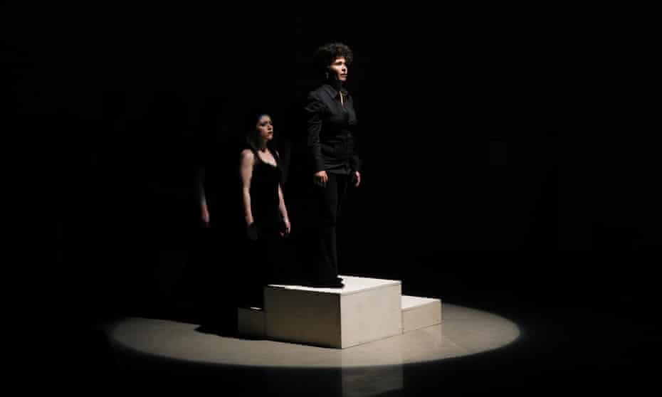 Elegy, Goliath's performance piece concerning murdered women, in which opera singers hold a single note for as long as they can