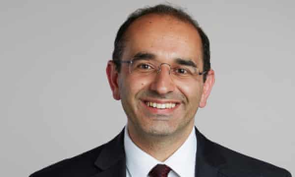 Zoubin Ghahramani, professor of information engineering at Cambridge University and chief scientist at Uber.