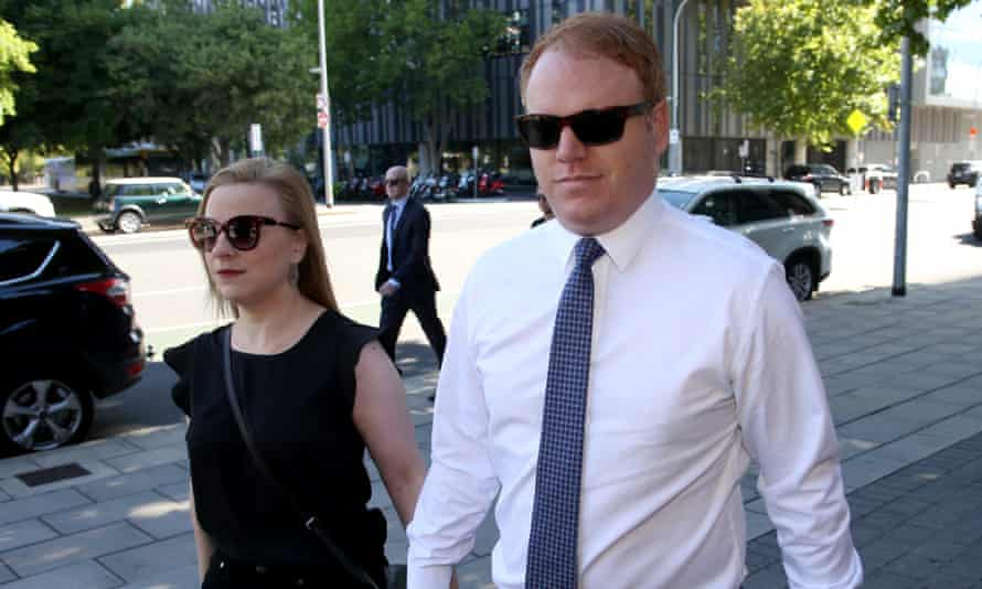 Richard Boyle arrives at the Adelaide Magistrates Court in Adelaide in December.