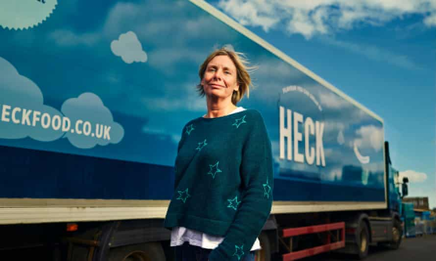 Debbie Keeble from heck sausages