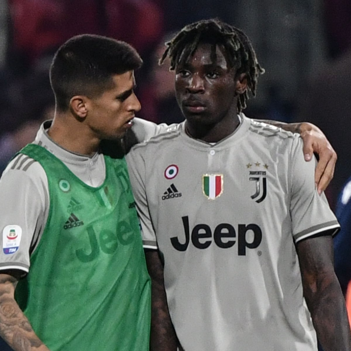 Cagliari Escape Punishment Over Racist Abuse Directed At Moise Kean Serie A The Guardian