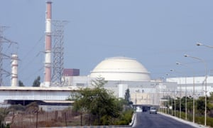 Iran's Bushehr nuclear power plant. Tehran could be less than a year away from possessing the capacity to develop a nuclear weapon.