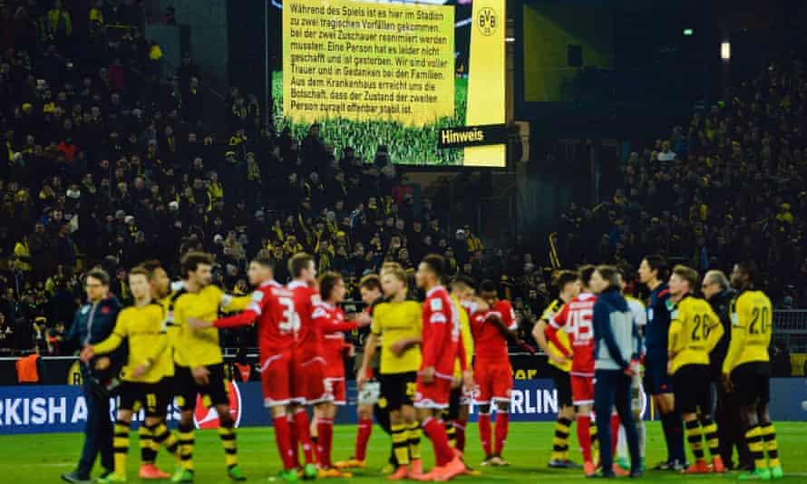 Borussia Dortmund v Mainz