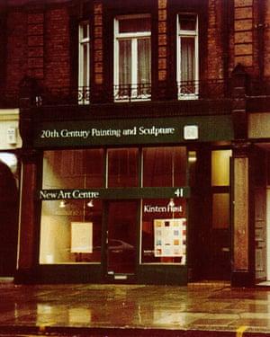 New Art Centre's original location in Sloane Street, London.