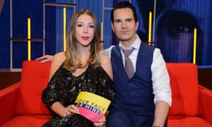 Katherine Ryan and Jimmy Carr