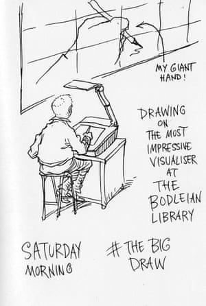 Chris Riddell sketch