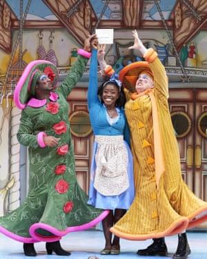 'Cinderella' Pantomime performance, Hackney Empire, London
