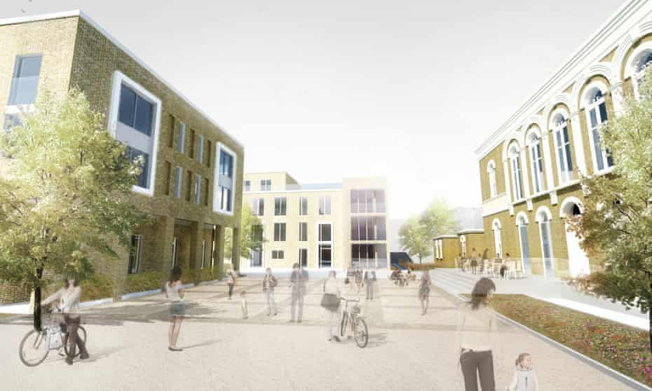 A rendering of the completed scheme at St Clement's.