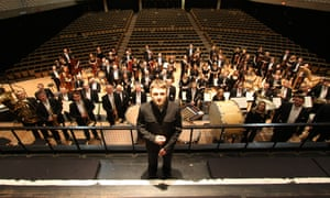 Karabits with the Bournemouth Symphony Orchestra.