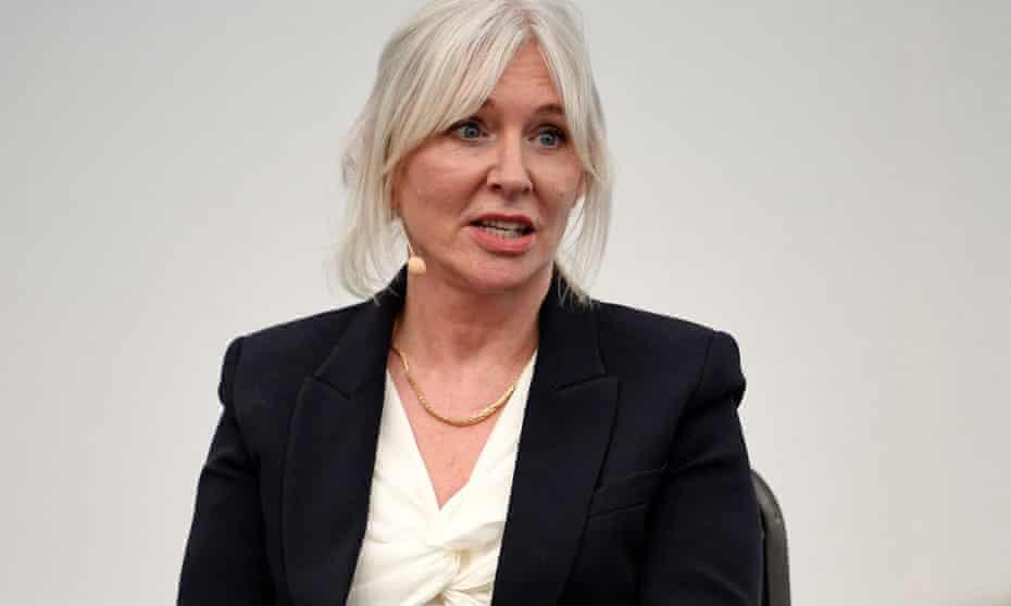 Nadine Dorries speaks at a fringe event