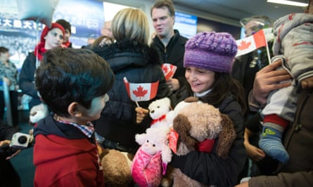 Canada Syria refugees Justin Trudeau delayed target