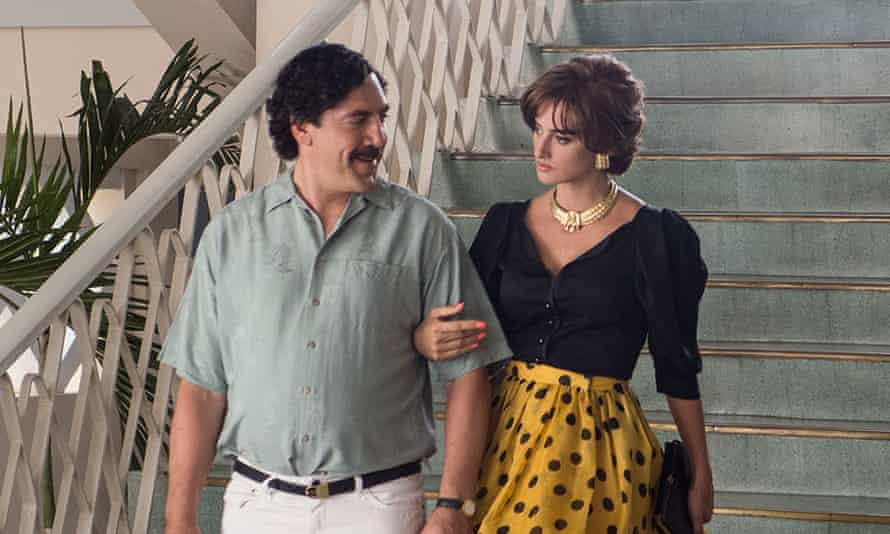 Javier Bardem and Penelope Cruz in Loving Pablo ... 'The heat really rises when their fiery attitudes mix and threaten to combust.'