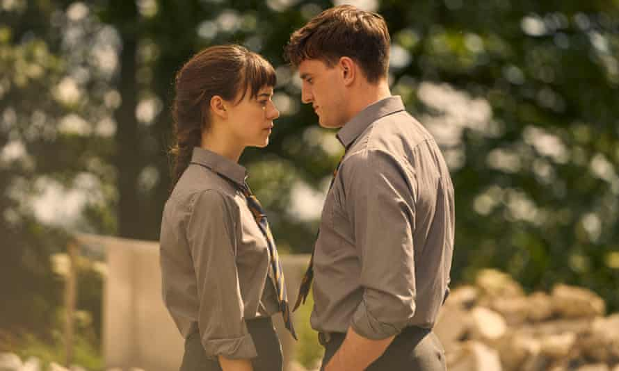 'She just wants to pick up his hand' … Daisy Edgar-Jones and Paul Mescal in the TV adaptation of Normal People.