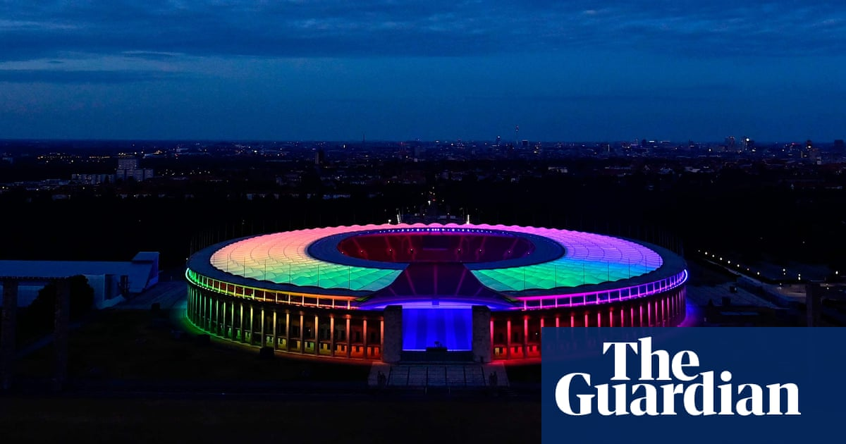 Rainbow stadiums: German football lights up for solidarity – in pictures