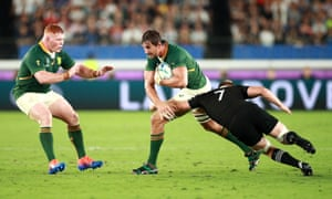 Sam Cane played an integral part of New Zealand's excellent first-half display against South Africa.