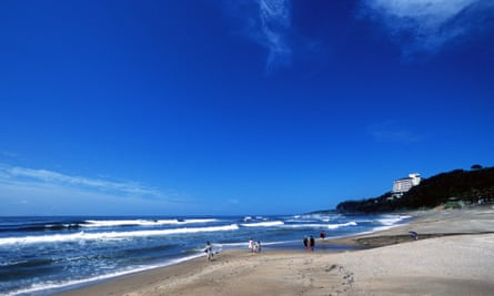 Jeju's beaches are a popular tourist destination