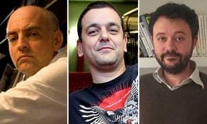 Daniel Clowes, Joann Sfar and Riad Sattouf.