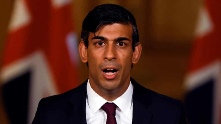 The UK chancellor, Rishi Sunak, announced the jobs support scheme as a replacement to the government's furlough plan.