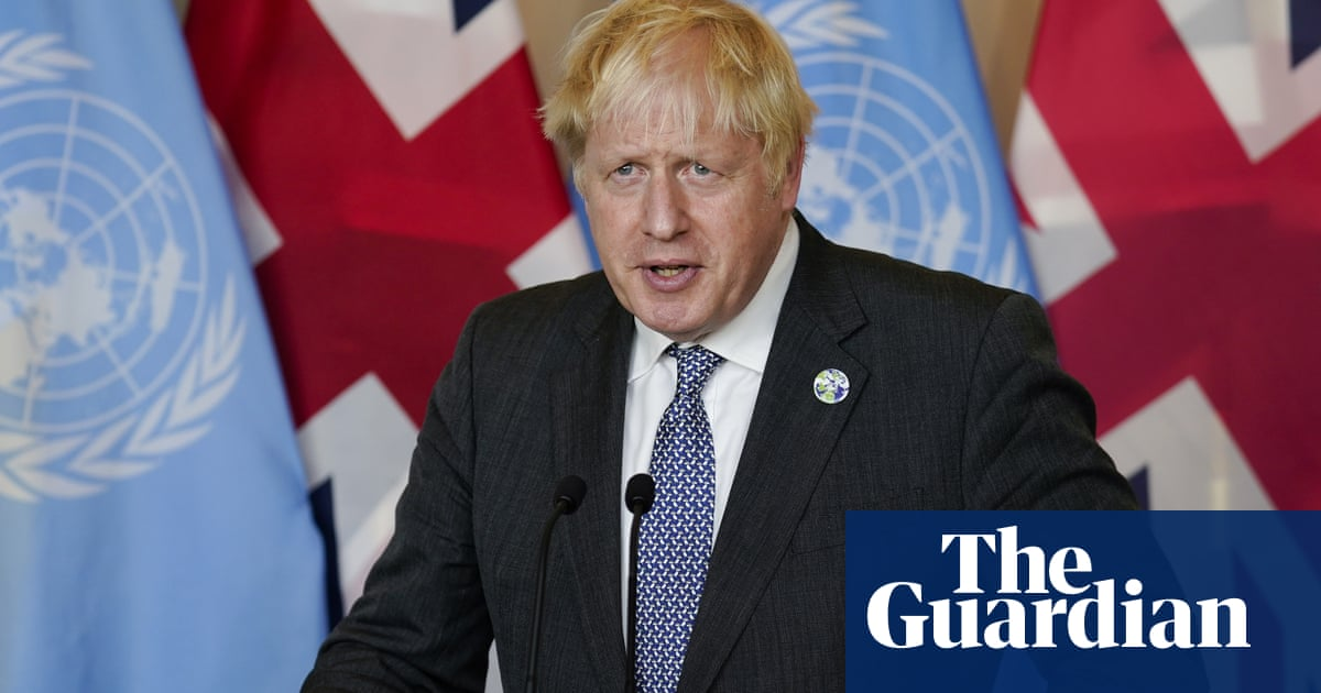 Developing world bears brunt of climate crisis, says Johnson – video