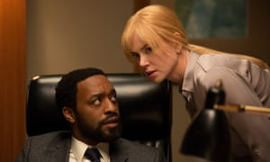 Chiwetel Ejiofor and Nicole Kidman in Secret in Their Eyes.