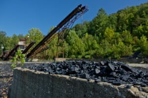 Abandoned coal, Beattyville.