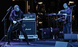 Sydney Opera House's Digital season performance featuring punk band Low Life.