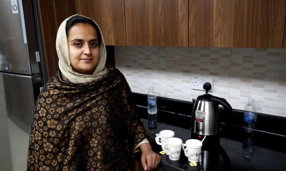 Beheshta Arghand in Doha.