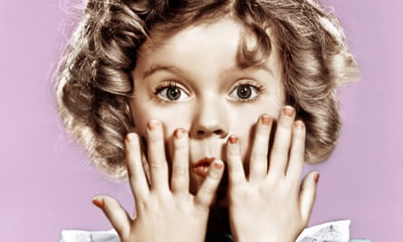 Child star Shirley Temple