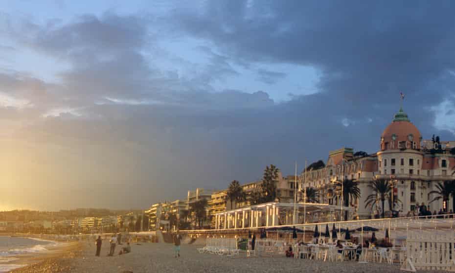 Nice's Promenade des Anglais.
