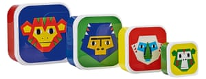 monkey puzzle snack box set,