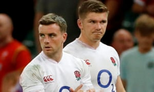 George Ford and Owen Farrell will start together for England for the first time since June 2018