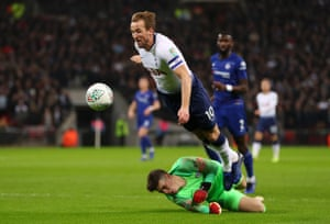 Harry Kane won and scored the penalty that decided the game for Spurs.