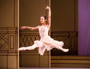 Francesca Hayward in Rhapsody at the Royal Opera House, 2016.