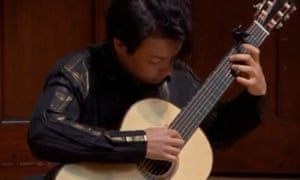 Seriousness of purpose ... Sean Shibe plays live at the Wigmore Hall.