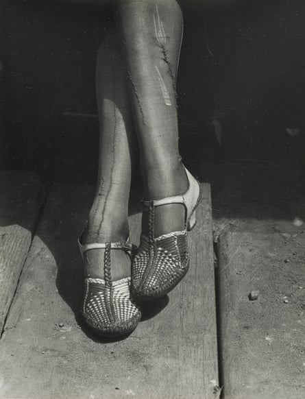 Dorothea Lange's A Sign of the Times from about 1934.