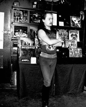 Euronymous, AKA Øystein Aarseth of Mayhem.