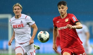 Bayer Leverkusen's Kai Havertz