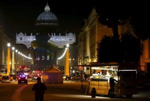 Facade of St Peter's Basilica