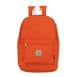 orange rucksack carharrt