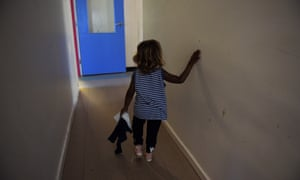 A child at the Alice Springs Women's Shelter.